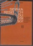 sbirka resenych prikladu z vyssi matematiky II