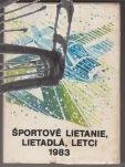sportove lietanie ,lietadla, letci 1983