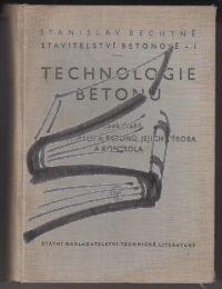 technologie betonu