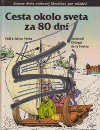 cesta okolo sveta za osemdesiat dni – komix