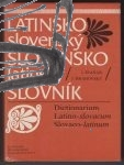 latinsko slovensky slovensko latinsky slovnik