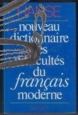 hanse – nouveau dictionnaire des difficultes du francais moderne