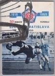 50 rokov futbalu slovana bratislava – antikvariat stary svet