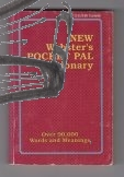 new websters pocket pal dictionary