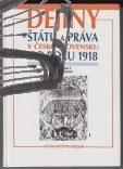 dejiny statu a prava v cesko-slovensku do roku 1918
