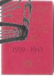 dejiny druhe svetove valky 1939-1945 - antikvariat kniha