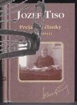 jozef tiso – prejavy a clanky – 1938-1944